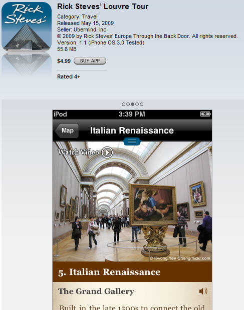 Rick Steve's Louvre Tour